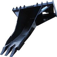 Haugen Stump Bucket Skid Steer Attachment