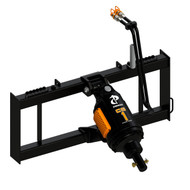 Pengo Skid Steer Loader Auger Attachment - The CS-1 Auger Attachment