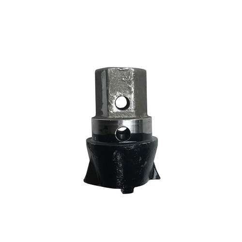 Hex Section of the Stump Planer Pilot Tooth Assembly by Eterra