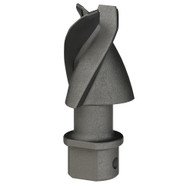 Hardface Aggressor Triflow Auger Bit Pilot Tooth