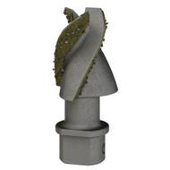 Hardface Carbide Aggressor Bit Pilot Tooth