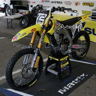 Suzuki RM-Z250 Dirt Bike for Supercross presented by Skid Steer Solutions and Eterra Attachments