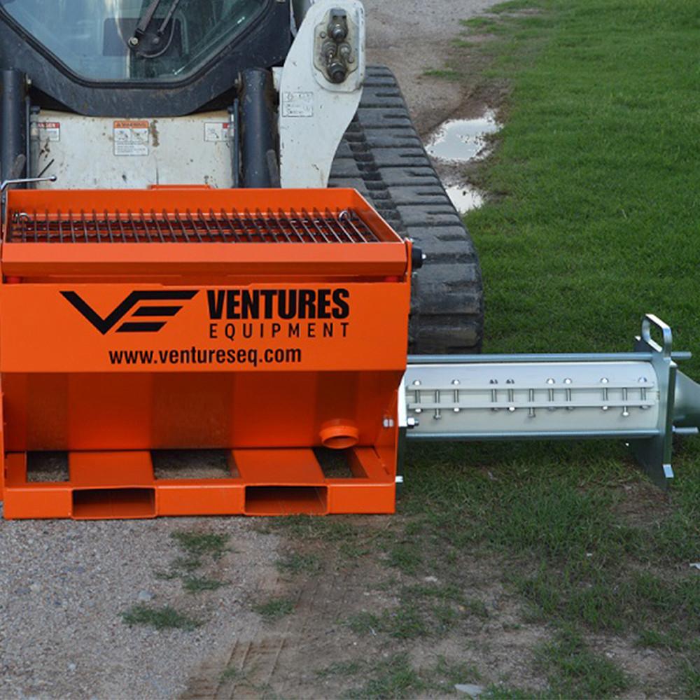 Skid Steer Concrete Pump   Ventures Equipment