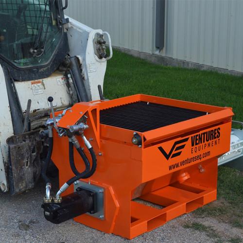Ventures EQ 3/8 Special Concrete Pump Side View