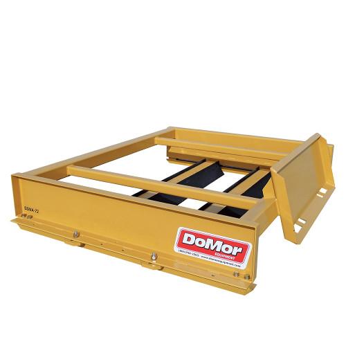 DoMor Equipment Skid Steer Manual Adjustable Box Grader