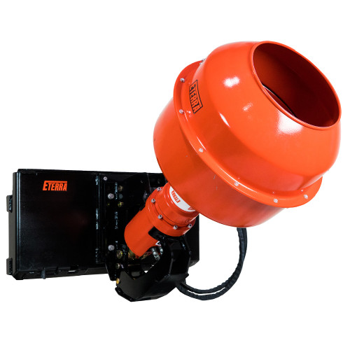 Skid Steer Auger and Concrete Mixer Attachment from Eterra Attachments