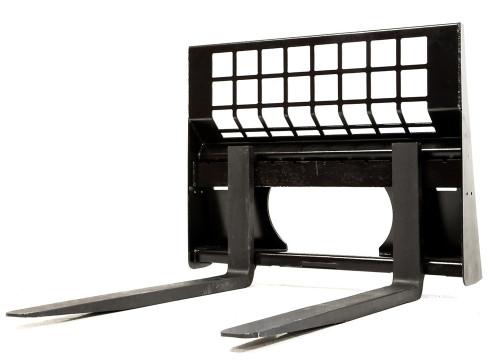"""Eterra 48"""" Pallet Forks 4400 lb. Attachment for Skid Steer Loader"""