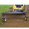 FFC Grader Rake Attachment for Skid Steer Loader raking and leveling dirt