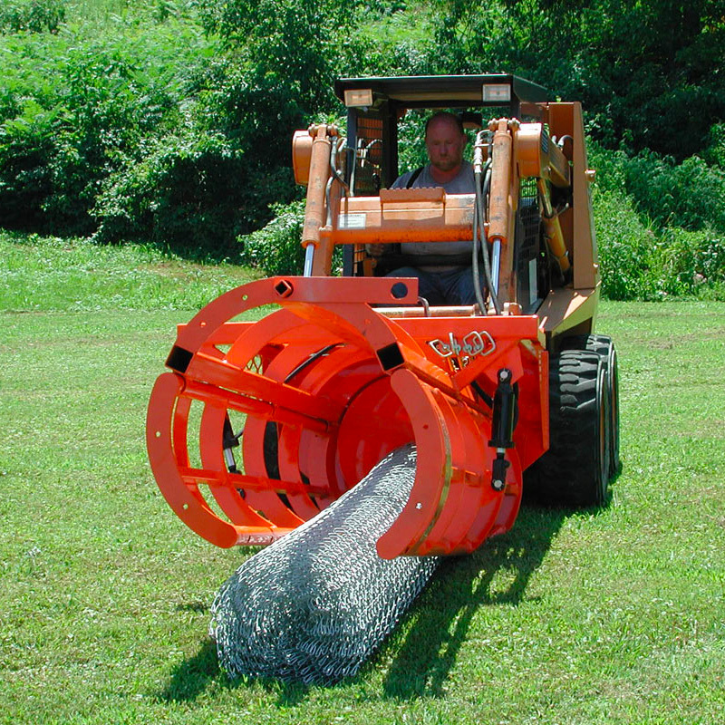 Fence Hog Skid Steer Fence Installer Attachment | Skid Steer Solutions