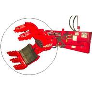EZ Spot UR Rock & Tree Hand Attachment for Skid Steer Loader