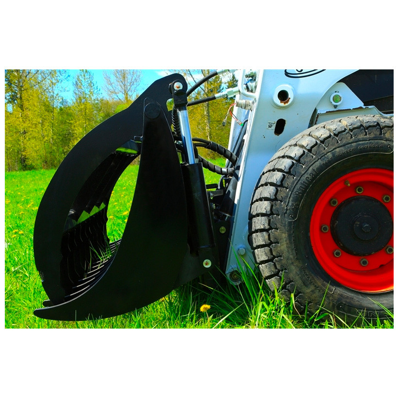 Anbo GR Grapple Attachment for Skid Steer Loader | Skid