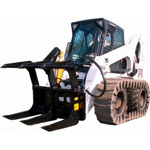 Gorilla Root Grapple Attachment for Skid Steer Loader