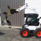 BSG Rotating Log Grapple Skid Steer Attachment Machine View