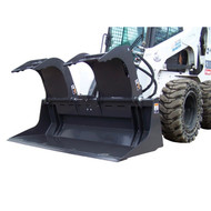 FFC Commercial Scrap Grapple Attachment for Skid Steer Loader
