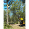 Sheyenne Tele-Saw Skid Steer Attachment Saw Machine View