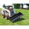 Bradco Tilt Tach Attachment for Skid Steer Loaders Detail with Bucket Attachment