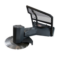 Power Tilt Tree Saw Attachment for Skid Steer Loaders