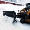 FFC Skid Steer V-Plow Snow Plow Attachment