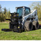 M&M Skid Steer Hydra-Clip Tree Shear with Tree Grapple Attachment Machine View