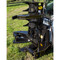 M&M Skid Steer Hydra-Clip Tree Shear with Tree Grapple Attachment Detail