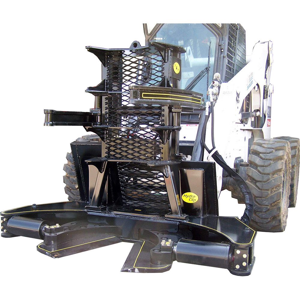 Mm Hydra Clip Tree Shear Attachment For Skid Steer Loaders