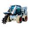 Eterra Skid Steer Trench Compactor Attachment Machine Action