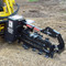 Bradco 625 Skid Steer Trencher Attachment 3 Foot Attachment Detail