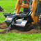 Bradco 625 Skid Steer Trencher Attachment Digging