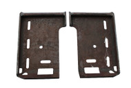 Universal Weld-On Mounting Pads Attachment for Skid Steer Loader