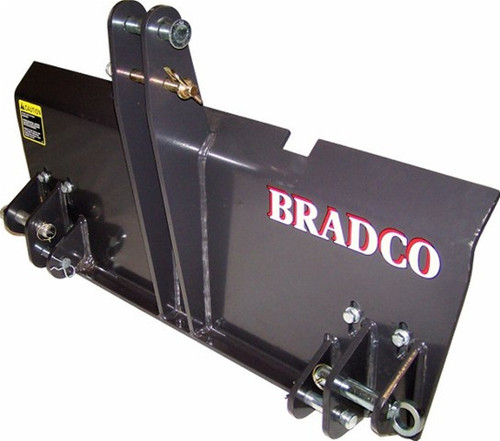 Bradco 3-Point to Skid Steer Adapter Attachment for Skid Steer Loader