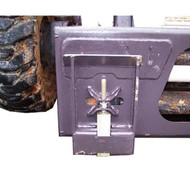 Down Shifter Adapter Plate Attachment for Skid Steer Loader Detail