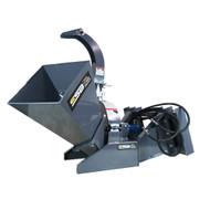 Skid Steer Basics - Skid Steer Wood Chipper Attachment.