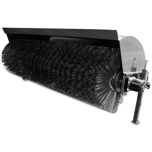 CID's Manual Angle Broom featuring heavy duty steel wafers. Get ready for some aggressive sweeping!