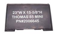 Eterra Thomas T85 Mini Mount Weld-On Adapter Attachment for Mini Skid Steer Loader