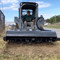 CID Skid Steer Rotary Tiller Attachment Blades demonstration.