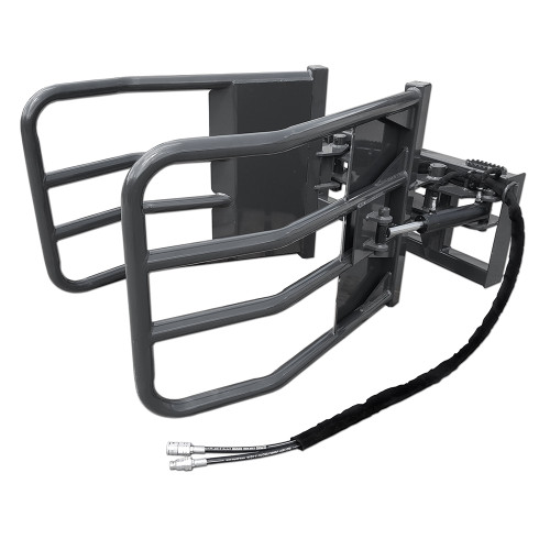 CID X-Treme Skid Steer Bale Squeezer. Give your hay bales a big hug with this gentle yet effective attachment!