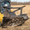 From trees to stumps to radioactive mutants, this Bradco skid steer disc mulcher tackles the toughest tasks.