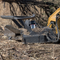 Bradco Skid Steer Disc Mulcher takes on all your heavy duty mulching projects