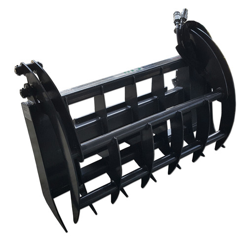 The Mini Skid Steer Grapple Rake by CID