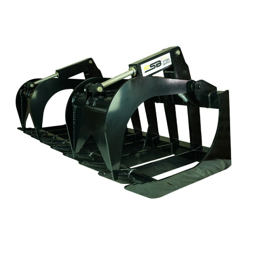 Skid Steer Basics Root Grapple Attachment