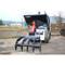 Eterra E40 Mini Skid Steer Backhoe Attachment with Grapple Rake Upgrade