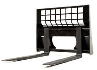 "Eterra 48"" Pallet Forks 4400 lb. Attachment for Skid Steer Loader"