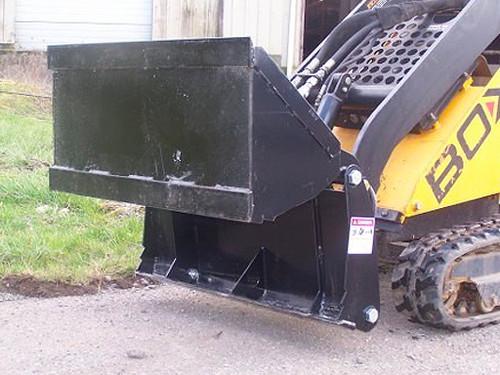 Bradco Mini 4 In 1 Bucket Attachment for Mini Skid Steer Loader
