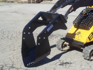 """42"""" Mini Tree Shovel Attachment - Side"""