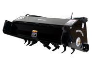 Bradco Mini Skid Steer Loader Rototiller Attachment