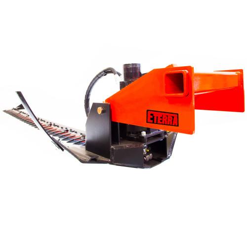 Eterra 7 Ft. Razor Excavator Sickle Mower Attachment - Back