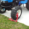 Equipment Lock Wheel Lock on tractor