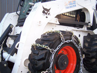 Skid Steer Snow Chains 4 Link - Main View
