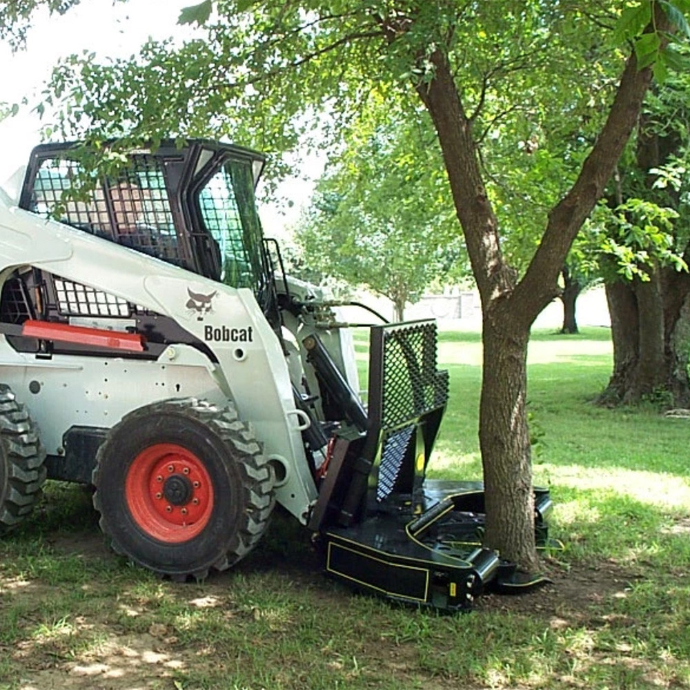 M M Skid Steer Hydra Clip Tree Shear Attachment Skid Steer Solutions