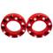 Eterra Aluminum Wheel Spacer Anodized Red an Eterra Exclusive